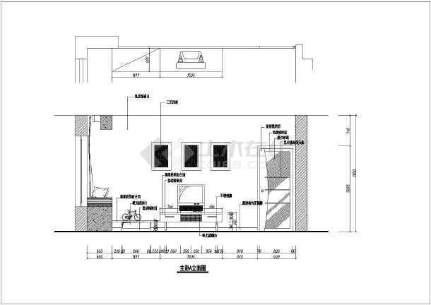 某地三室两厅雅居完整家装设计施工图纸