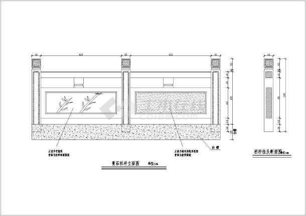 某水利工程水渠v水渠世纪(栏杆暗涵图纸及盖板龙腾图纸3调t3明渠图片