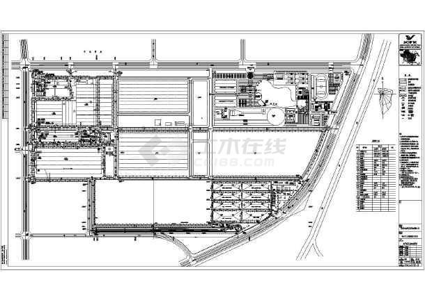 某地汽车厂建筑规划设计总平面方案图图片1近代中国建筑设计图片