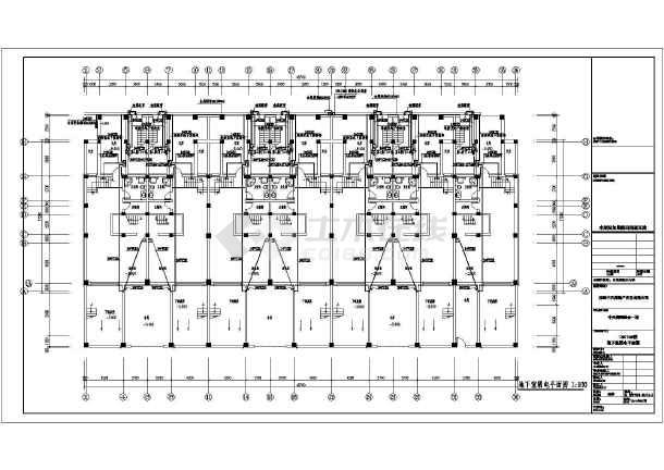 某住宅小区系统楼宇对讲图纸及地下多层监控系统v住宅车库包装盒设计印刷礼品盒图片