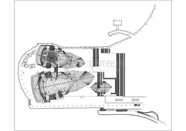 澳大利亚悉尼歌剧院建筑设计简图方案(图纸)装饰与装修工程施工组织设计方案图片