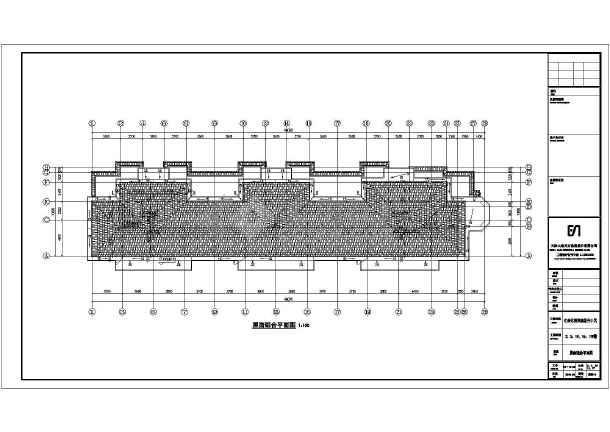 宅建筑结构施工图(pkpm