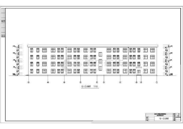 中学教学楼方案设计图纸 课程设计