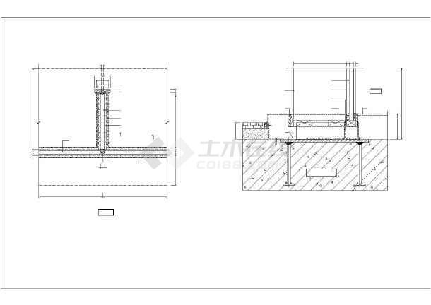 广州新白云机场钢结构点式幕墙钢节点详图