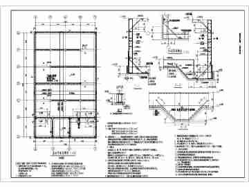 500立方米消防水池结构设计施工图