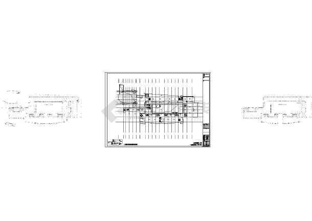 三层幼儿园建筑,结构设计图