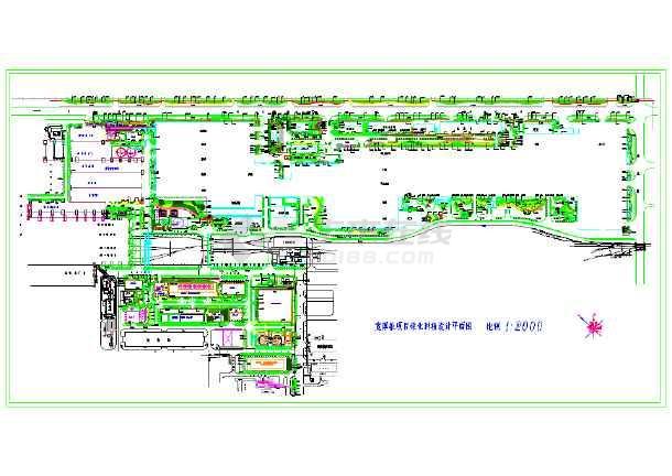 园林种植设计平面图