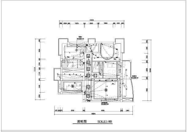 某新式小区家装设计电路图(共4张)