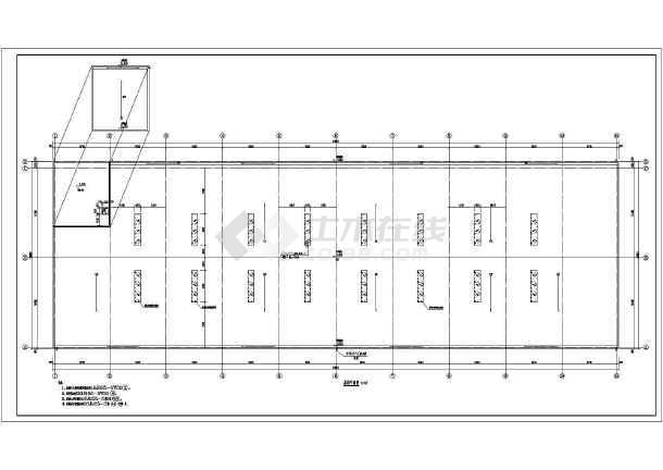 某多层及单层钢结构仓库设计图纸(全集)