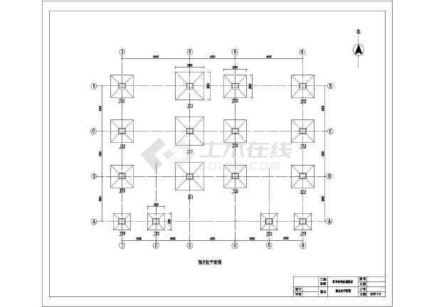 结构带露台简单农村房屋建筑设计图(含二层)图纸a2大小a3与图片