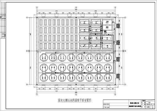 某温室大棚电气设备平面设计施工图纸