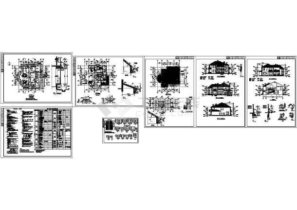 所属分类: 建筑图纸   立即查看 【东莞】某小区别墅建筑结构施工图
