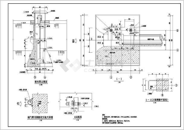 套涵管结构钢筋图