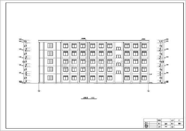 某地多层旅馆结构设计施工图(毕业设计)