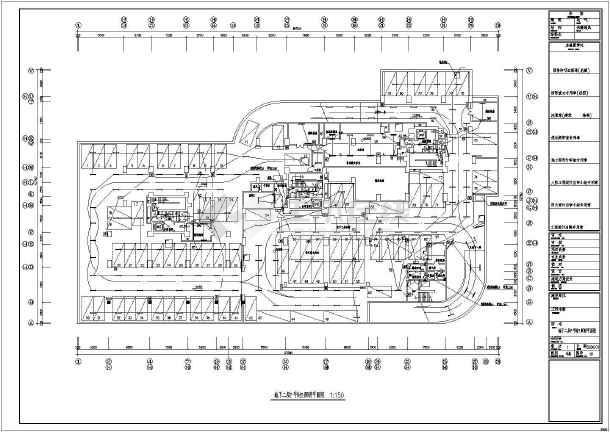 设计施工图 深圳某地下2层地上32层塔楼大厦工程电气