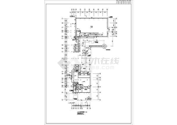 某地两层框架结构综合厂房建筑设计施工图