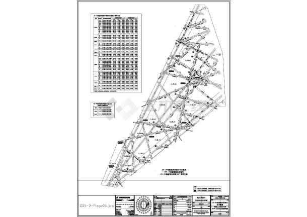 北京钢结构国家体育场鸟巢部分结构施工图(2)