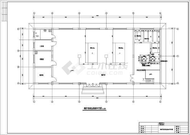某学校两台燃气锅炉房设计施工图纸_cad图纸macair用能cad吗图片