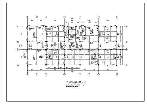 某地多层乙类病房医院框架楼绘图施工图园林设计彩六合无绝对片