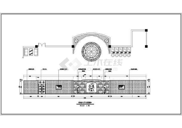 简介:本图纸为重庆某五星级大酒店装修施工图纸,共3层,欧式风格为主