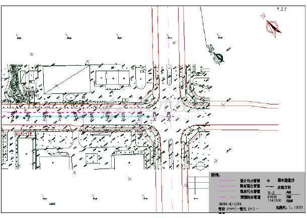 某道路给水排水工程施工图-图3