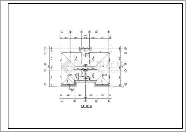 农村单层房屋设计图纸