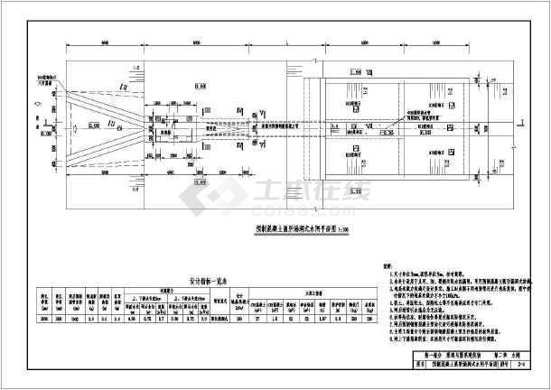 小型农田水利工程设计图集(水闸)