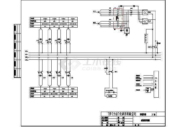交流接触器和时控开关接线图