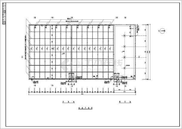 某市制药厂厌氧池3000t建筑给排水设计图图片
