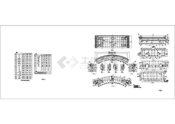 某地地铁盾构管片配筋设计图(浅埋)