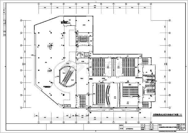苏州某四层狂接结构图纸给排水、消防工程施工la8131pr1.0商场图片