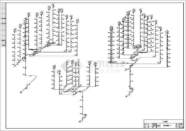 喷淋平面图系统图图片3