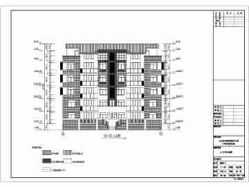 五层住宅建筑设计图