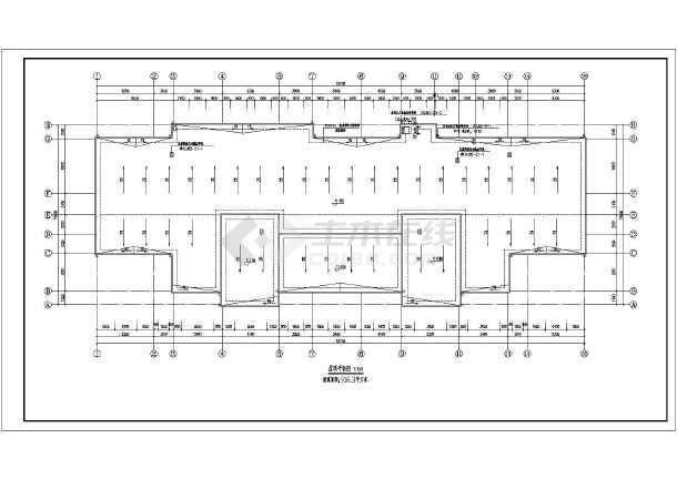 某县级三层框架幼儿园建筑设计施工图