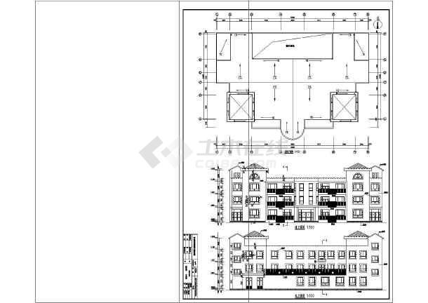 某三层幼儿园建筑施工图