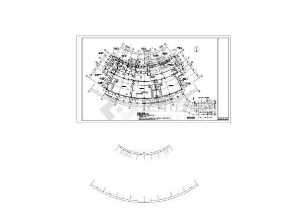 三层建筑剖面图手绘