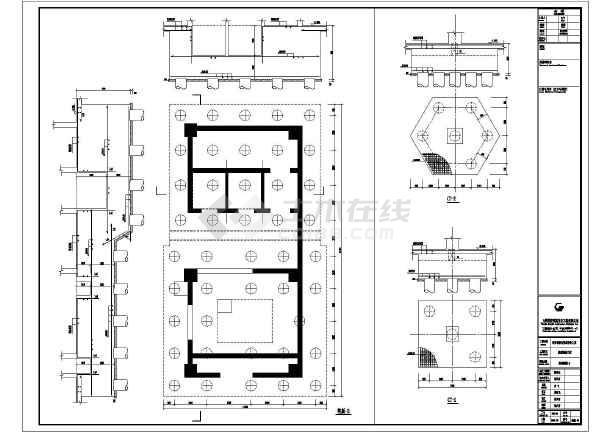 包头市26层框剪结构办公楼全套专业施工图设计
