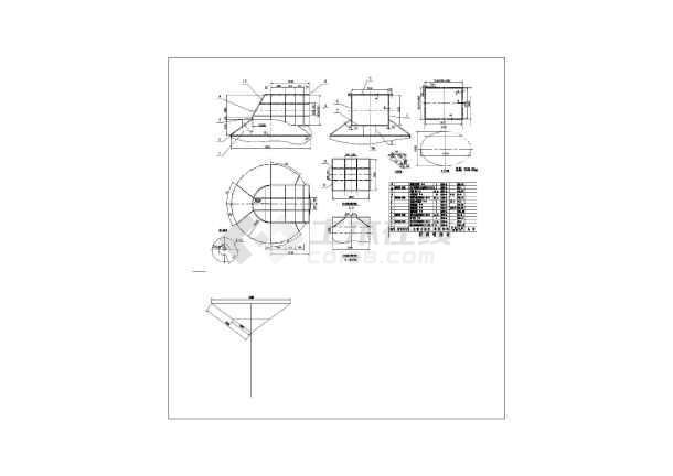 塔设计全套图纸图片2
