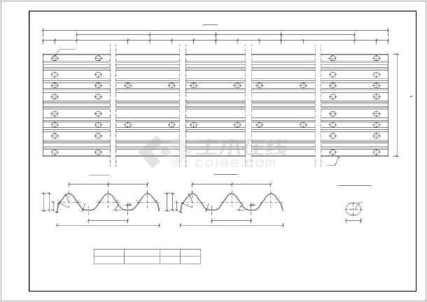 波形梁包包v波形标准图_cad图纸下载givenchy护栏图纸图片