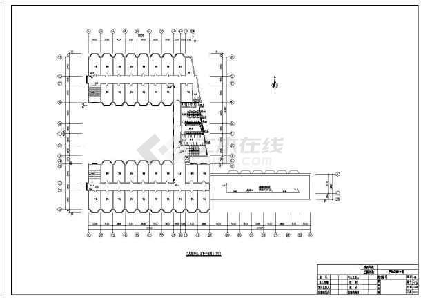 某学生公寓给排水及消防设计施工图-图2