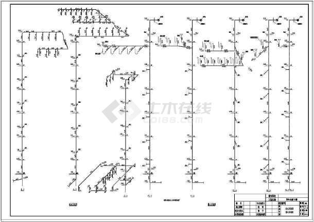 某学生公寓给排水及消防设计施工图-图3