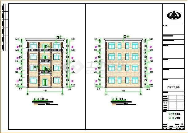 平房195平方房屋设计图展示图片