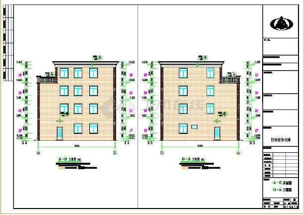 建筑占地170平方米多卧室四层农村房屋建筑设计图