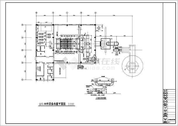 某地区35t燃气锅炉型号图纸第一沈阳机床厂图纸6140cw全套图片