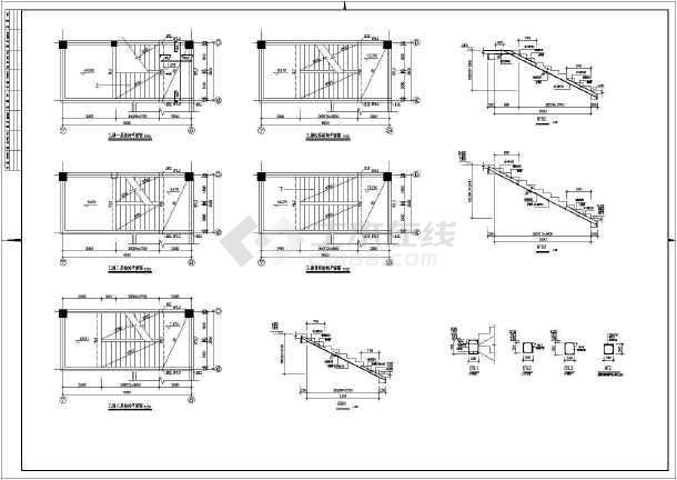 某多层砼框架厂房结构设计施工图(含建筑设计)
