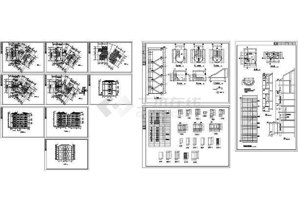 珠海某花园别墅复式公寓_cad图纸下载-土木在线