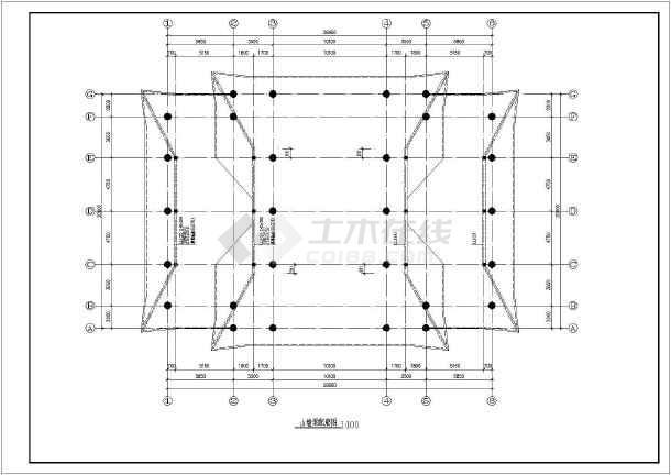 二层砖混别墅结构图