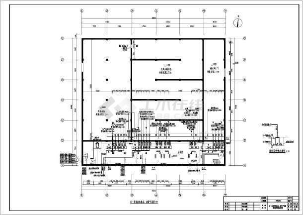 某工厂自来水泵房供水系统设计图图片