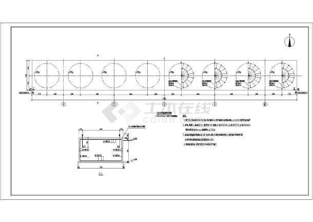 某轻钢厂房框架设计图