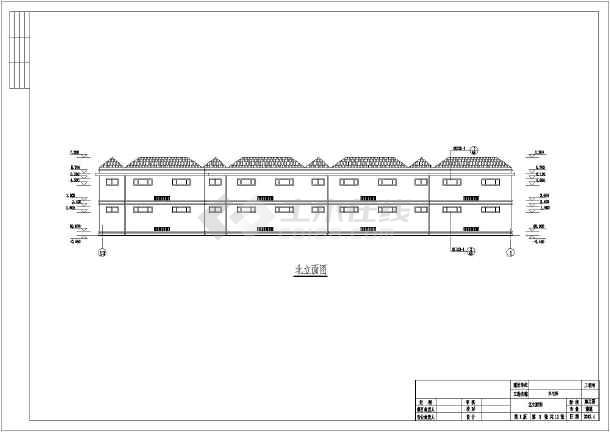 保定某二层砌体结构小别墅建筑结构水暖电施工图